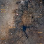 Le centre galactique annoté