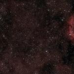 La comète Hartley 2, le double amas de Persée et le Coeur