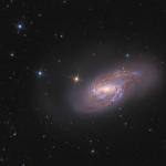 La galaxie spirale M 66