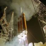 """Un lancement de Delta IV """"Heavy"""""""