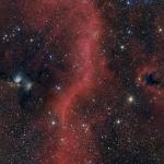 Au nord de la ceinture d'Orion