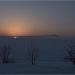 Le Soleil et la Lune se couchent en Sibérie