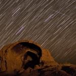 Quadrantides au-dessus de Shahr-e Qumis -