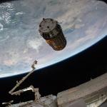 Kounotori 2 approche de l'ISS -
