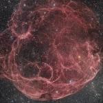 Simeis 147, rémanant de supernova