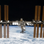 La Station spatiale internationale a encore grandi