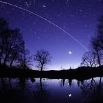 Discovery au crépuscule