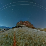 Vaisseaux spatiaux sur le Colorado -
