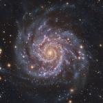 M74, parfaite spirale