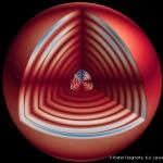 Battements du cœur d'une géante rouge