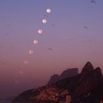 Coucher de Lune sur Rio