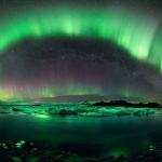 Nuit étoilée sur l'Islande