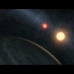 Kepler-16b, la planète aux deux soleils