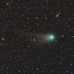Les queues de la comète Garradd