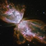 La nébuleuse du Papillon vue par Hubble