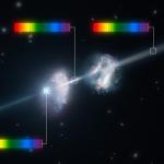 Surprises dans la lueur rémanente d'un sursaut gamma