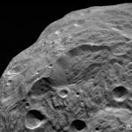 Glissement de terrain sur Vesta