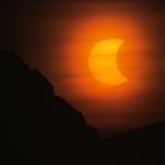 Eclipse de Soleil sur l'Antarctique