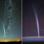 La comète Lovejoy et l'ISS
