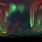 Un ciel tout d'aurore sur la Norvège