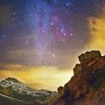 Orion sur les Canaries