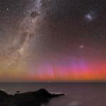 Aurore rouge sur l'Australie