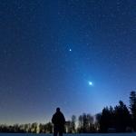 Un paysage céleste zodiacal