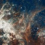 Formation d'étoiles dans la Tarentule