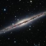 La galaxie spirale NGC 891