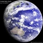 Regard sur une Terre éclipsée