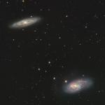 M65 et M66 sont dans un trio