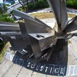 Un cadran solaire qui sait écrire -