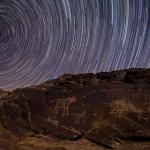 Les pierres gravées de Teimareh sous les étoiles