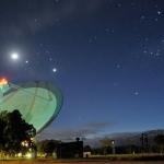 Antenne à l'aube