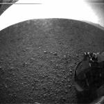 Une roue sur Mars