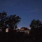Perséide sur le Château d'Albrechtsberg