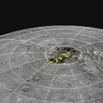 Glace au nord de Mercure