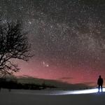 Comète au Nord