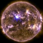 Plus forte éruption solaire de l'année