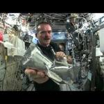 Essorer dans l'espace