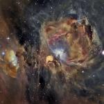 M42 en oxygène, hydrogène et soufre