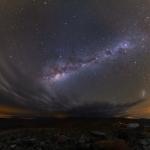 Nuages sur l'Atacama