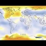 130 ans de températures terrestres