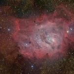 M8, nébuleuse de la Lagune