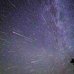Pluie d'étoiles filantes sur la Chine