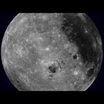 Lune en rotation