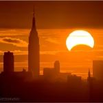 Eclipse sur New York