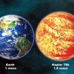 Kepler 78b, planète de taille terrestre -