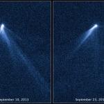Les surprenantes queues de l'astéroïde P5