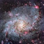 Les nuages d'hydrogène de M33